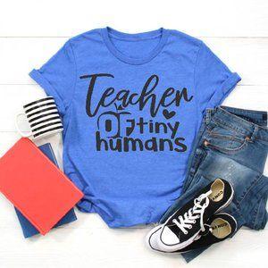 Teacher of tiny humans soft T-Shirt